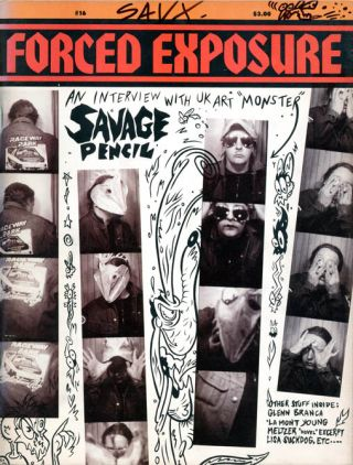 FORCED EXPOSURE #16 (Waltham, Mass.: 1990