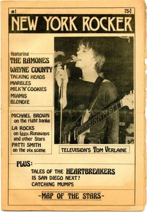 NEW YORK ROCKER #1-13 (NYC: February 1976 - August 1978