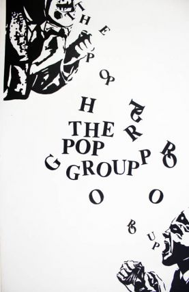 Original promotional poster (1978). The POP GROUP