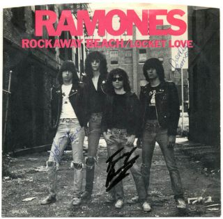 Rockaway Beach/Locket Love. The RAMONES