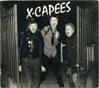 X.Capees: A San Francisco Punk Photo Documentary. Raye SANTOS, Richard McCAFFREY, f-Stop...