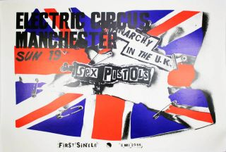 Anarchy In The UK. The SEX PISTOLS