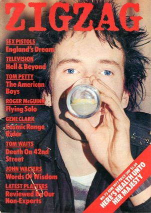 ZIGZAG #73 (London: June 1977). The SEX PISTOLS