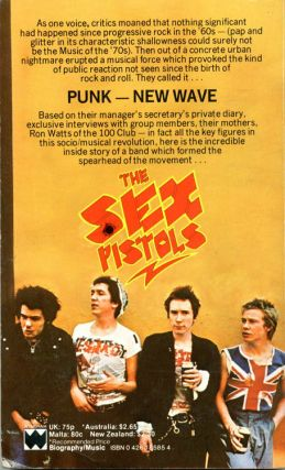 The Sex Pistols: The Inside Story.