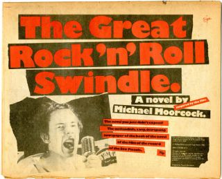 The Great Rock'n'Roll Swindle (inspired by the film): A novel.