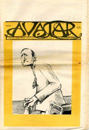 THE AVATAR #1 + #3-14 + #19-21 (Boston, Mass.: 9th June, 1967-15th March, 1968). 16 issues, from 24 published.