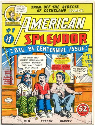 AMERICAN SPLENDOR #1 (Cleveland Heights, OH: Harvey Pekar, 1976