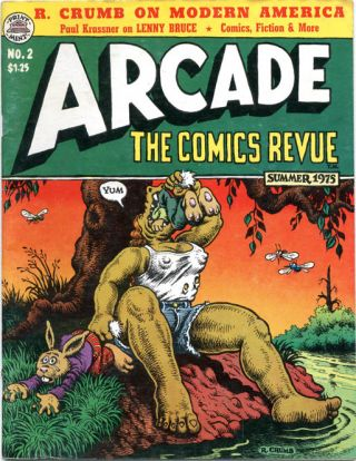 ARCADE - The Comics Revue #1-7 (Berkeley, CA: The Print Mint, Spring 1975-Fall 1976) - all published.
