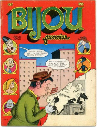 BIJOU FUNNIES #3 (Chicago: Bijou Publishing Empire, Inc., 1969