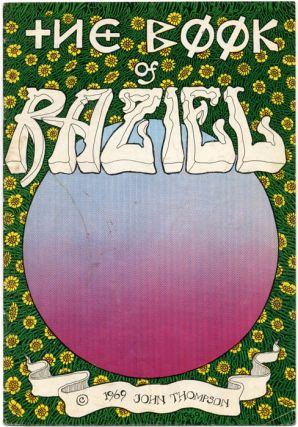 THE BOOK OF RAZIEL (Berkeley, CA: The Print Mint, 1969