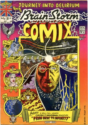 BRAINSTORM COMIX No. 2 (London: Lee Harris/Alchemy Publications, 1976