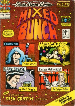 BRAINSTORM COMIX No. 3 aka Mixed Bunch (London: Lee Harris/Alchemy Publications, 1976
