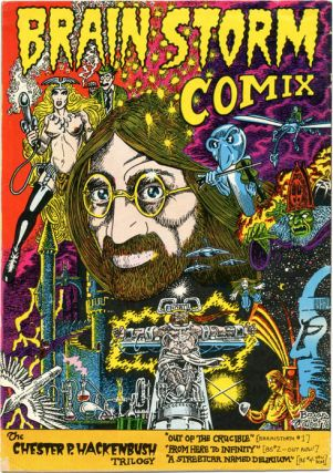BRAINSTORM COMIX No. 3 aka Mixed Bunch (London: Lee Harris/Alchemy Publications, 1976).