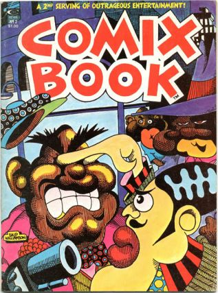 COMIX BOOK #2 (NY: Magazine Management Company, Inc. [Marvel Comics], 1975