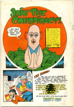 CONSPIRACY CAPERS #1 (Chicago, IL: The Conspiracy, 1969).