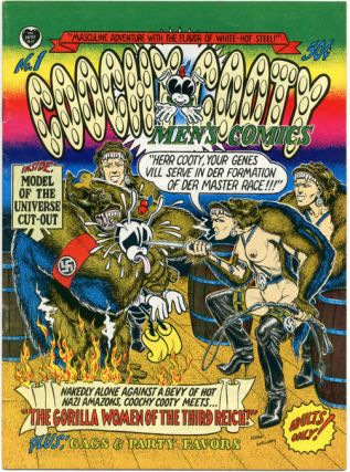 COOCHY COOTY MEN'S COMICS (Berkeley, CA: The Print Mint, 1970