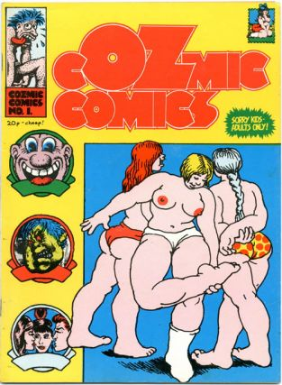 COZMIC COMICS (London: H. Bunch Associates, 1972-1975) - all published