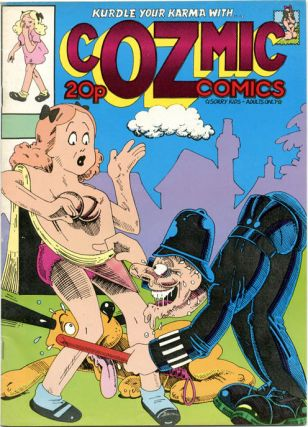 COZMIC COMICS (London: H. Bunch Associates, 1972-1975) - all published.
