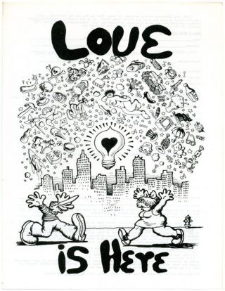 LOVE is here. R. CRUMB