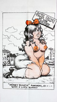 """Honeybunch Kaminski"" poster insert in OZ #24 (London: Oz Publications Ink Ltd., November 1969)...."