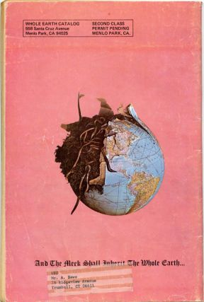 Front cover, The Realist Presents The Last Supplement to the Whole Earth Catalog.