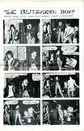 Interview in PUNK Magazine #3 (NY: April 1976).
