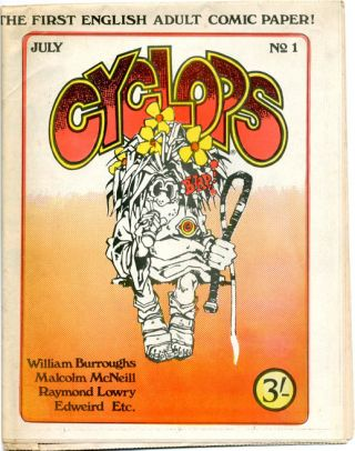 CYCLOPS #1-4 (London: Innocence & Experience [Publishers] Ltd., July-October 1970) - all published
