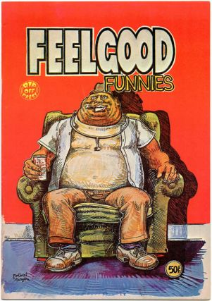 FEELGOOD FUNNIES #1 (SF: Rip Off Press, 1972