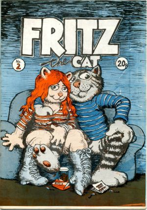 FRITZ THE CAT No. 2 (Manchester: J.J. Flash, nd. [1973