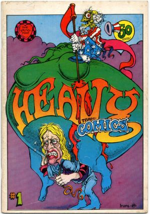 HEAVY TRAGI-COMIX #1 (Berkeley, CA: The Print Mint, 1969