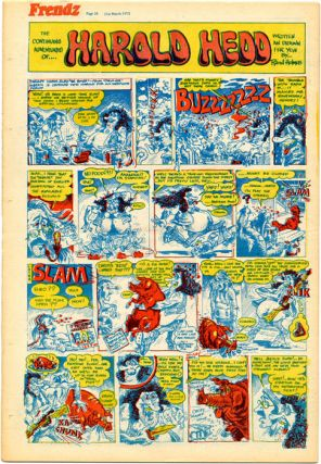 """The Continuing Adventures of… Harold Hedd"", in FRENDZ #24 (London: 31st March, 1972)."