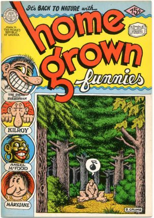 HOME GROWN FUNNIES (Milwaukee, Wisc.: Kitchen Sink Enterprises, 1971