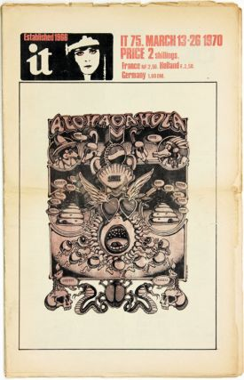 Front cover art, IT #75 (London: 13th March, 1970). Rick GRIFFIN