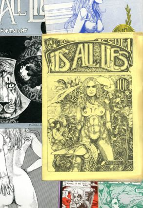 IT'S ALL LIES #1-6 (Kensington, London: Gemsanders Publications, 1973-1974) - all published