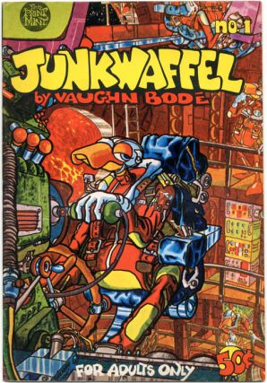 JUNKWAFFEL #1 (Berkeley, CA: The Print Mint, 1970