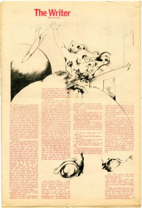 """""""Future Comics"""" front page, INK - The Other Newspaper #18 (London: Ink Publishers Ltd., 5th October, 1971)."""