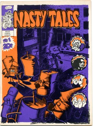 NASTY TALES #1-7 (London: Bloom Publications: April 1971-Winter 1972) - all published