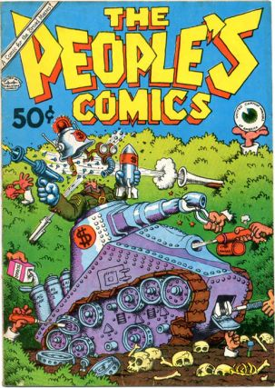 THE PEOPLE'S COMICS (SF: The Golden Gate Publishing Co., 1972