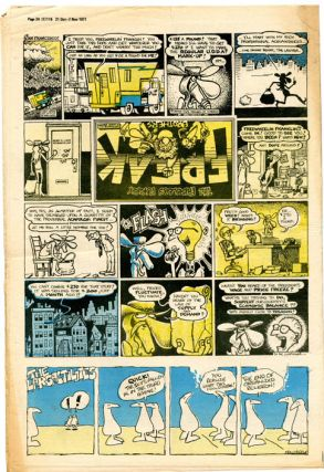 1pp. Fabulour Furry Freak Brothers strip in IT #115 (London: 21st October, 1971).