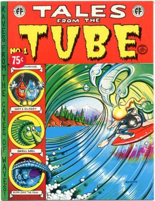 TALES FROM THE TUBE (Berkeley, CA: The Print Mint, 1973