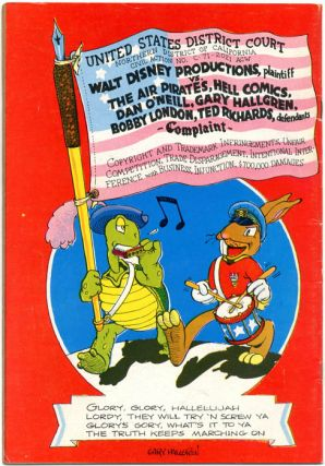 THE TORTOISE AND THE HARE (Berkeley, CA: Last Gasp Eco-Funnies, 1971).