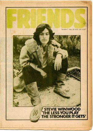 FRIENDS #1-28 (London: 12th December 1969-3rd May, 1971)/FRENDZ #1 (ie. #29 of Friends) - #35 (London: 7th May, 1971-August, 1972) - all published (63 issues).