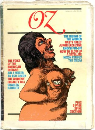 OZ #1-48 (London: Oz Publications Ink Ltd., January 1967-November 1973) - all published.