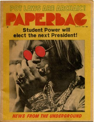 PAPERBAG #1-2 (Los Angeles: MPS Corporation, February and August 1968) - all published.