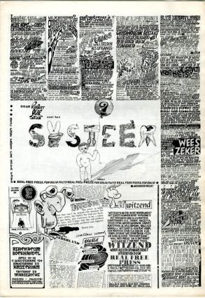 REAL FREE PRESS ILLUSTRATIE #1 (Amsterdam: November 1968).