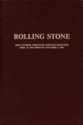 ROLLING STONE #31-45 (SF: 19th April-1st November, 1969