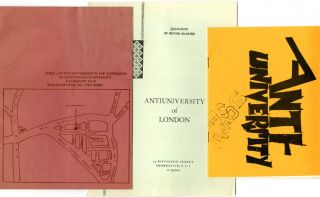 ANTI-UNIVERSITY OF LONDON