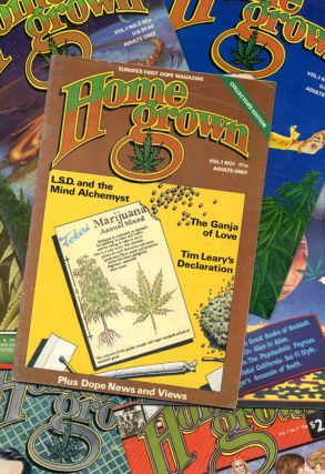 HOME GROWN #1-10 (London: Alchemy Publications, 1977-1981) - all published