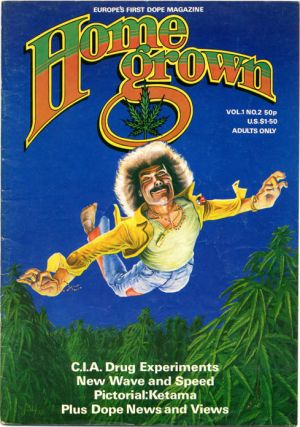 HOME GROWN #1-10 (London: Alchemy Publications, 1977-1981) - all published.
