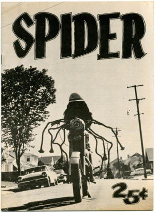 SPIDER Magazine Vol. 1, #7 (Oakland, CA: October 1965). Hunter S. THOMPSON, contributes